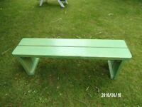garden bench / plant stand
