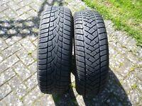 RRP £134 each ***** EXPENSIVE SIZE 2x Dunlop SP WINTER SPORT 175/60/16 82H M+S BARGAIN *****