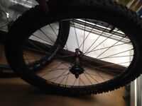 Mavic sup d521 wheels