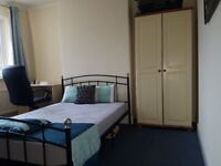CLEAN BIG DOUBLE ROOM IN A FULLY FURNISHED FLAT OPP. WIMBLEDON CHASE STATION, NEAR TESCO, COOP.