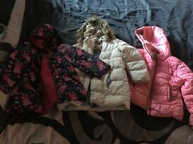 Girls coats aged 5/6 bargain bundle
