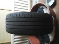 BRIDGESTONE TYRE 225 / 40 R18 7M LEFT £ 10 NO O TEXTS PLEASE