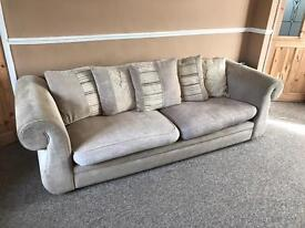 Large 4 Seater +3 seater Dfs sofa
