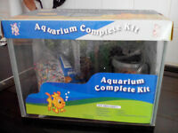 Small complete FISH TANK set-up