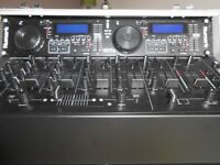 A Numark Twin CD Deck set