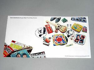The Beatles First Day Cover Stamps
