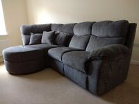 SCS Lofa RHF 4 Seater Corner Sofa and 2 Seater Sofa Suite - 7 MONTHS OLD