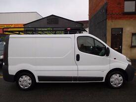 Vauxhall Vivaro SWB van in excellent condition MOT until July 2017 NO VAT (12)
