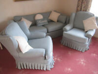 2/3 seater sofa, 2 chairs inc £300 of Plumbs covers !!