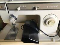 SINGER 1247 VINTAGE SEWING MACHINE - Needs attention or can be used or sold for parts!