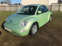 Vw Volkswagen Beetle 1.6 moted service history low miles £495 may p/x or swap