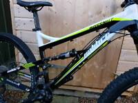 Calibre Bossnut full suspension mountainbike