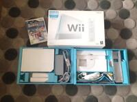 Wii Console with Wii Fit Board & Games
