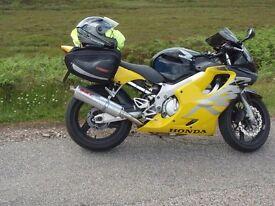 Honda CBR 600 f (W Reg) Ultima light Yellow/ Black