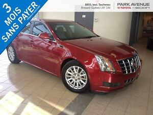 2012 Cadillac CTS CUIR * AWD * V6 3.0 L * ROUGE * TRES PROPRE