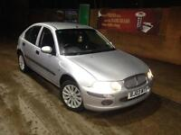 """ROVER,25,IL,16V,1588cc,PETROL,2003,5DR,MANUAL,SILVER,LOW MILES"""