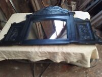 Cast Iron Fireplace Overmantle