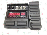 Zoom GFX-707 Electric Guitar Effects Pedal :- Distortion Chorus Delay Wah Drums etc