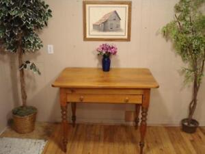 Antique Pine Harvest Table