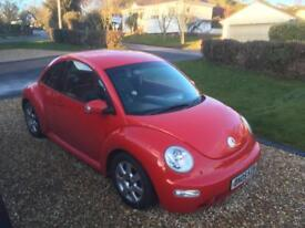 Volkswagen Beetle 1.8 Red 2005 (55 plate)