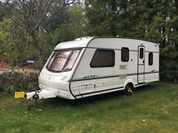 Lovely Abbey GTS Vogue 516 5-berth caravan, ready for fun filled family holidays!