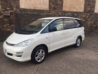 TOYOTA ESTIMA AERAS 2.4 Auto PEARL WHITE, STORM BRONZE and SEHARA GOLD 7and 8 Seater. 3 cars ready