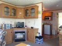 bargain static caravan for sale in newquay holiday park in cornwall all fees included!!