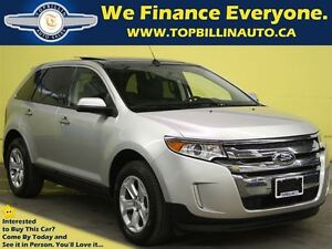 2011 Ford Edge SEL Navigation, Dual Sunroof, Leather