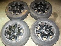Rover / MG / Kia etc winter tyres and alloys PCD = 4 x 100