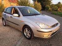 2003 53 FORD FOCUS MOT 1 YEAR 5 DOOR DELIVERY ANYWHERE IN UK