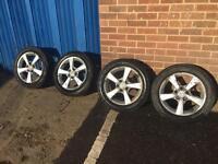 Mazda 3 Alloy Wheels And Tyres 205/55/16 91V