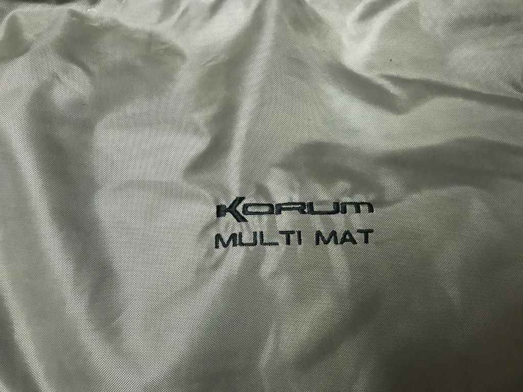Korum muti mat and carp sack