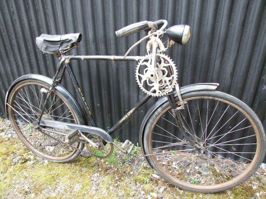 1940 S Humber Sports Gents Vintage Bicycle With Duplex