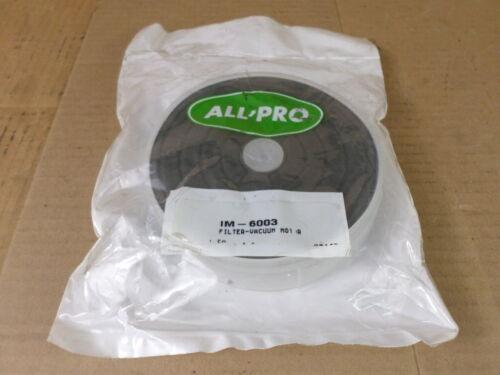 All/Pro IM-6003 Vacuum Motor Filter