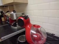 Pod Coffee Machine in Red