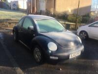 Vw beetle 1.6 1 years mot