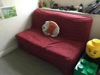 SOLD!! Ikea double sofa bed - free to a good home
