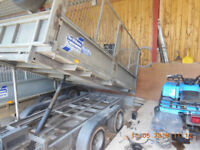 Ifor Williams TT 105 Tipper Trailer With Mesh Sides