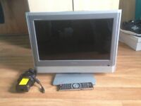 "Toshiba 20"" Freeview LCD DIGITAL TV 