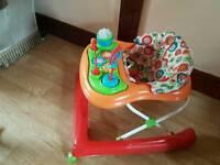 Baby walker& tub