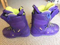 ROME SDS Bastille PureFlex Snowboard boots - Womens size UK 5.5 (US 6.5)