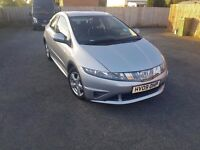 Honda Civic turbo diesel in excellent condition with only 65k on the clock. An absolute bargain
