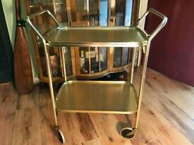 Vintage cocktail trolley. #2