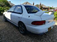 Subaru Impreza WRX STi V2, white, cat c