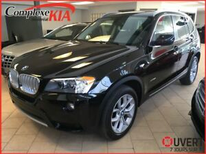 2014 BMW X3 xDrive28i TOIT PANORAMIQUE CUIR AWD CAM.RECUL