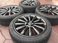 "Genuine 17"" BMW Mini Cooper R108 Multispoke Light Refurbished Alloy wheel &tyres"