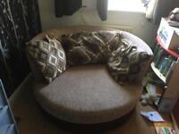 Rotating Round Sofa