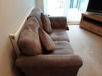 Grey 2 seater sofa exelent condition smoke free pet free house