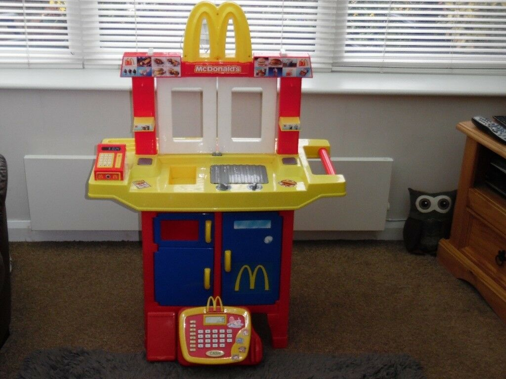 Mcdonalds Kids Drive Thru Play Kitchen Very Rare Not Sold In Uk With Working Till And Food Tools In Rugby Warwickshire Gumtree