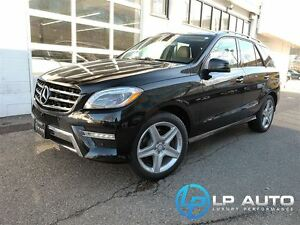 2014 Mercedes-Benz M-Class ML350 BlueTEC 4MATIC No Accidents!